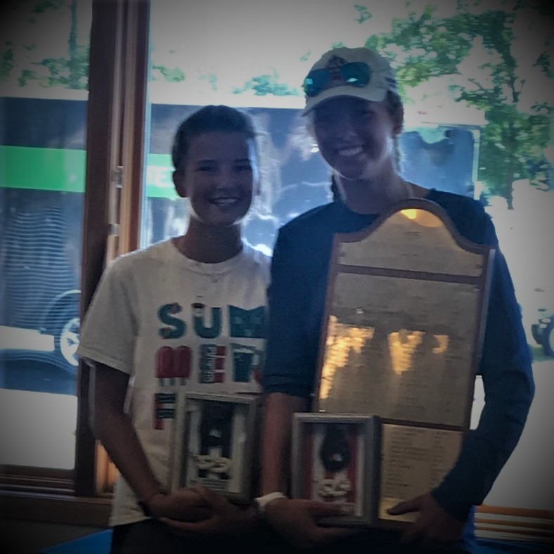 B-7 wins! - Annie Cate Schmidt and Anneliese LeRoy