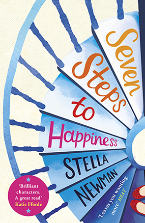 Seven Steps to Happiness  by Stella Newman Designed by Emma Rogers
