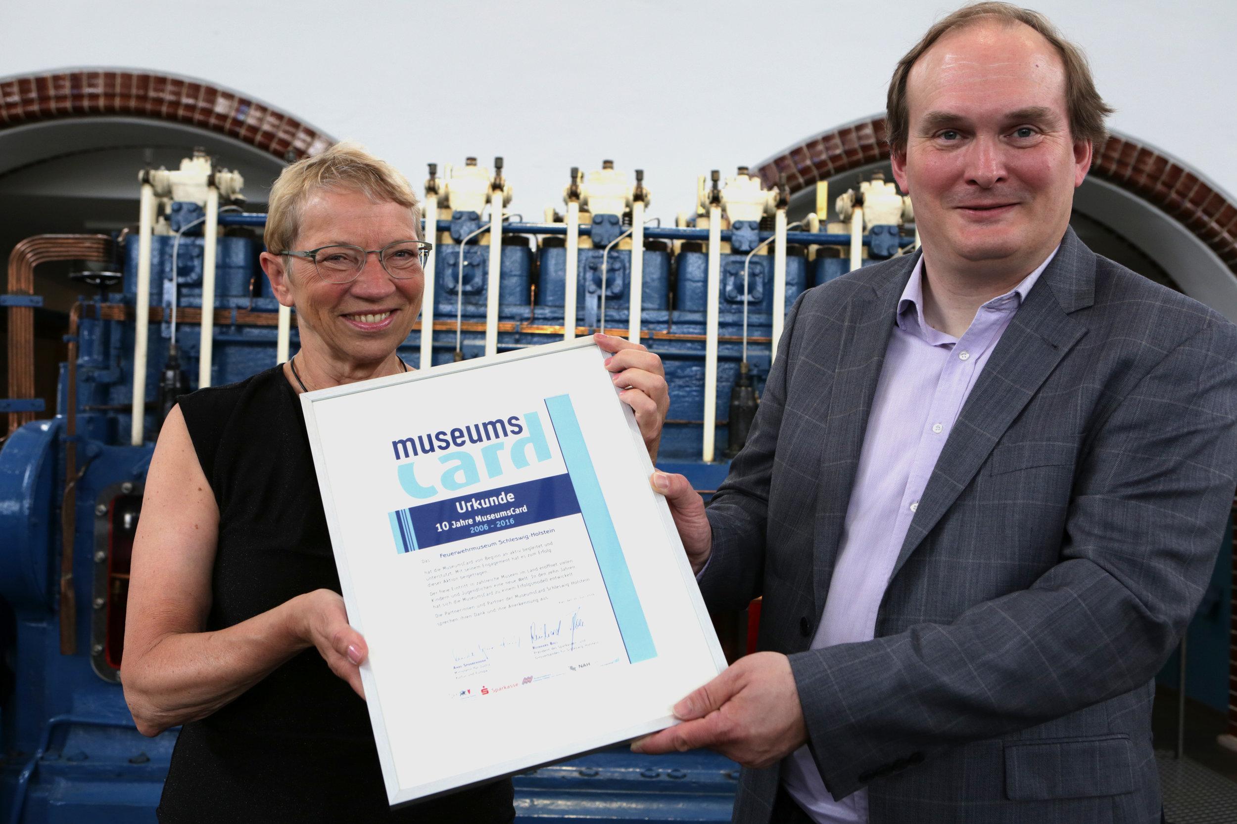Anke Spoorendonk und Dr. Hajo Brandenburg, Foto: Oke Jens