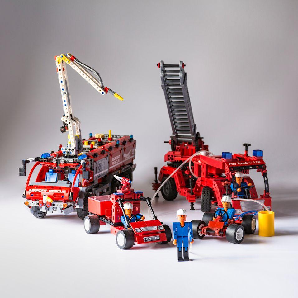 Maschinenbau im kleinen Maßstab: fischertechnik und LEGO Technic - 7. März bis 6. Mai 2018