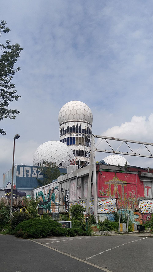 Main listening tower