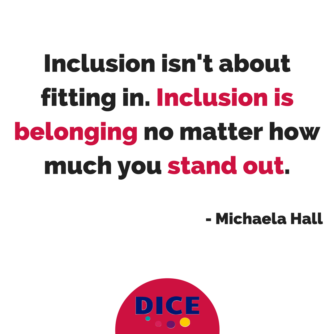 Inclusion is Belonging