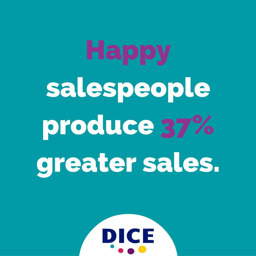 Happy Salespeople