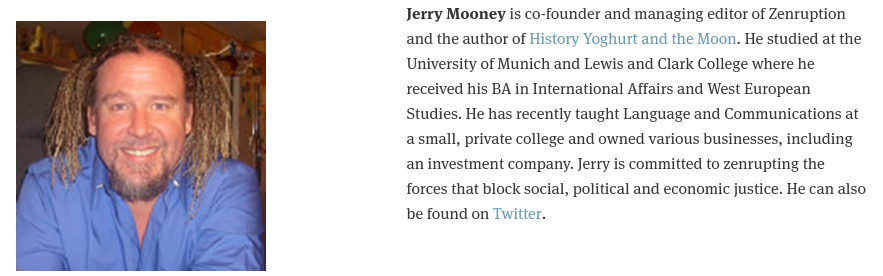 Also creator of  Jerry Mooney Books