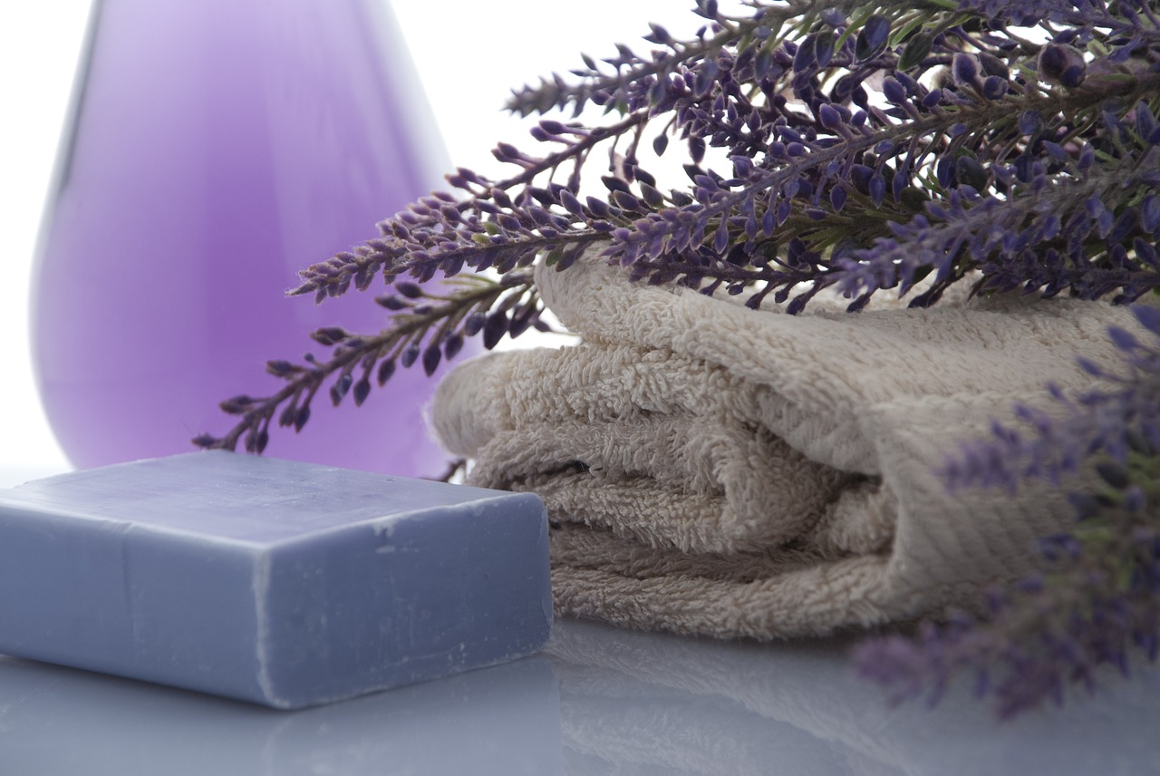 image credit  https://pixabay.com/photos/lavender-soap-towels-beauty-3066531/