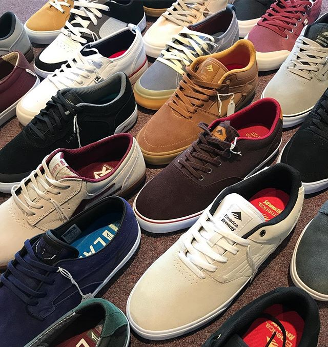Buy one pair and get a pair half off on all shoes! #emericashoes #lakaiordie #dcshoes