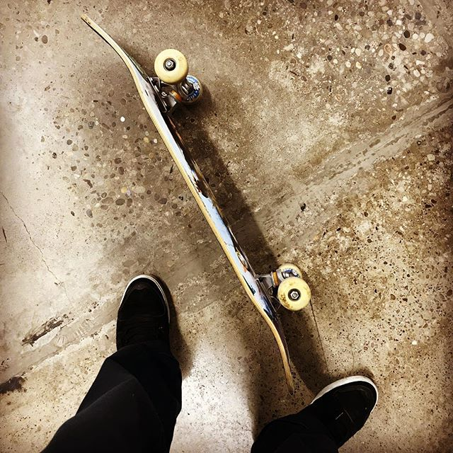 Be sure to spend time with your true love today! #firstlove #myskateboardhasalwaysbeenthereforme