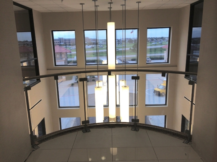 Various Curved Glass Railings