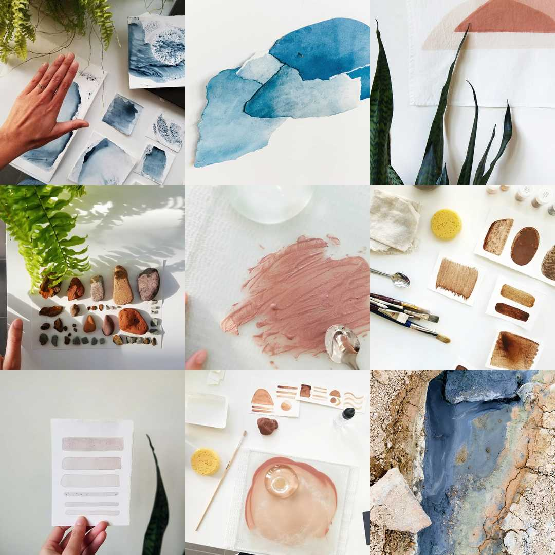 2018's bestnine – Studio time was clearly about connecting with nature's colours.