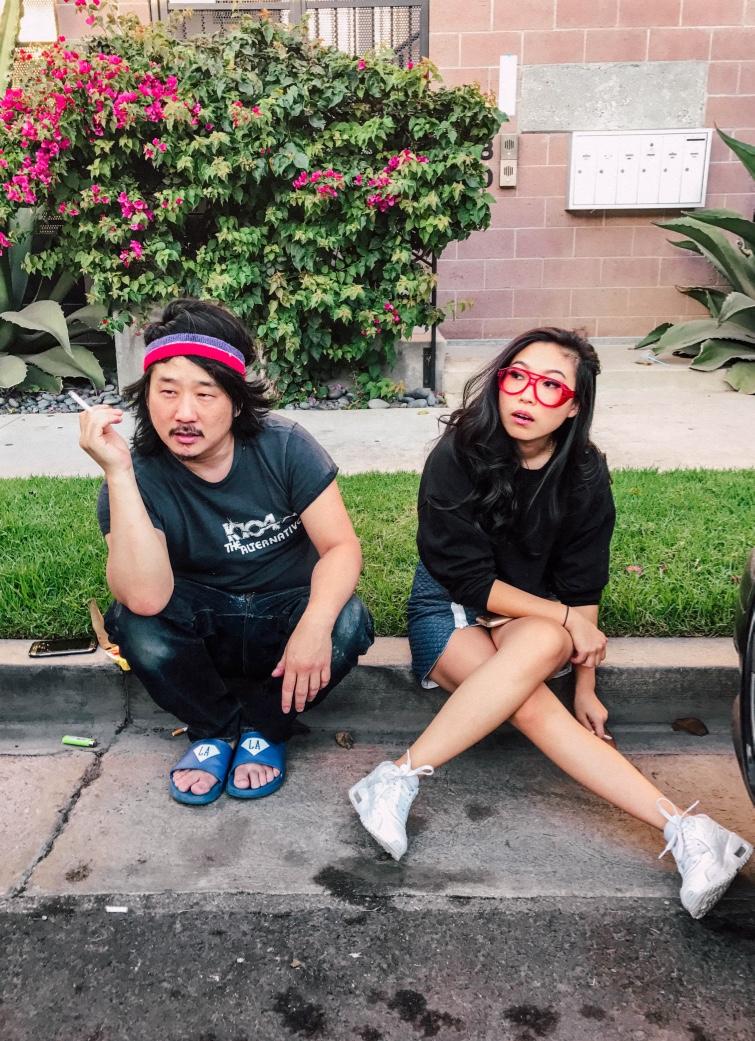 Bobby Lee & Nora Lum (Awkwafina)