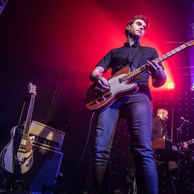 Bring on the ⛈. 7/13. Albuquerque, NM. w/ @richloveofficial and @fierceandpurple 🖤 📷: @scottbutner  #NewMexicoMusic #albuquerquenights #albuquerque #summerconcerts #summernights #guitars #sexyguitars #rockconcert #whitepenguin
