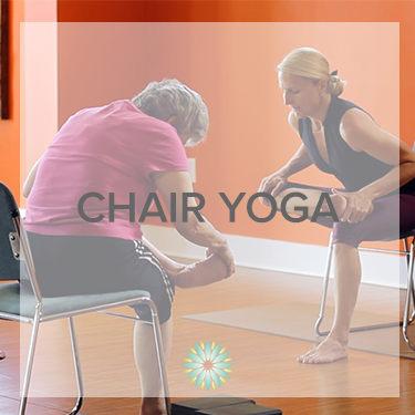 Reserve your chair for Amber's chair yoga series this January! -  RESERVE NOW