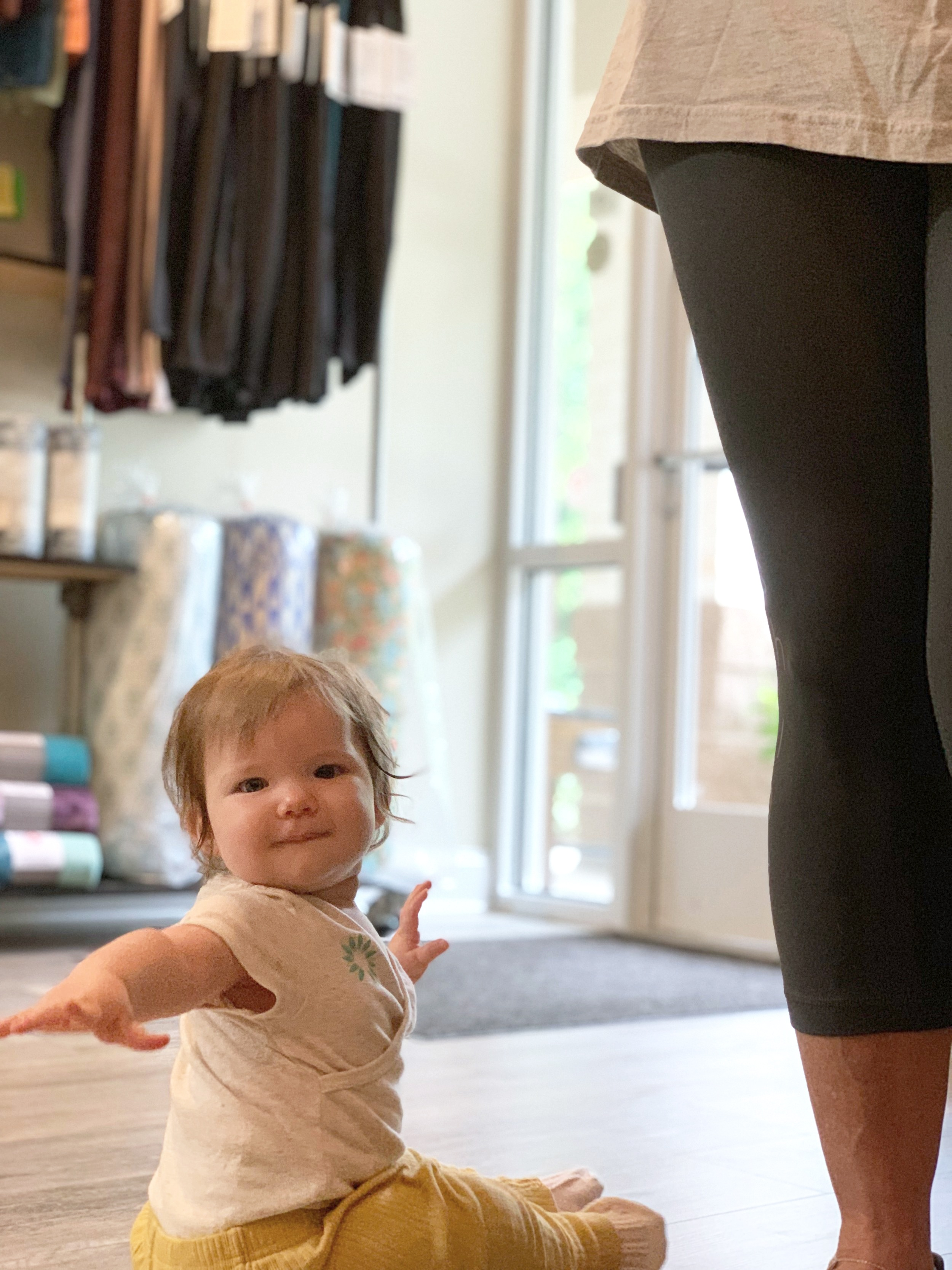 iShine owner, Genevieve Boulanger's daughter, Stella, at 8 months