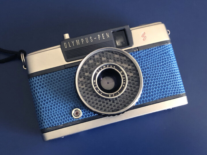 The wonderful Olympus Pen EE-S half-frame film camera. A thing of beauty and simplicity.