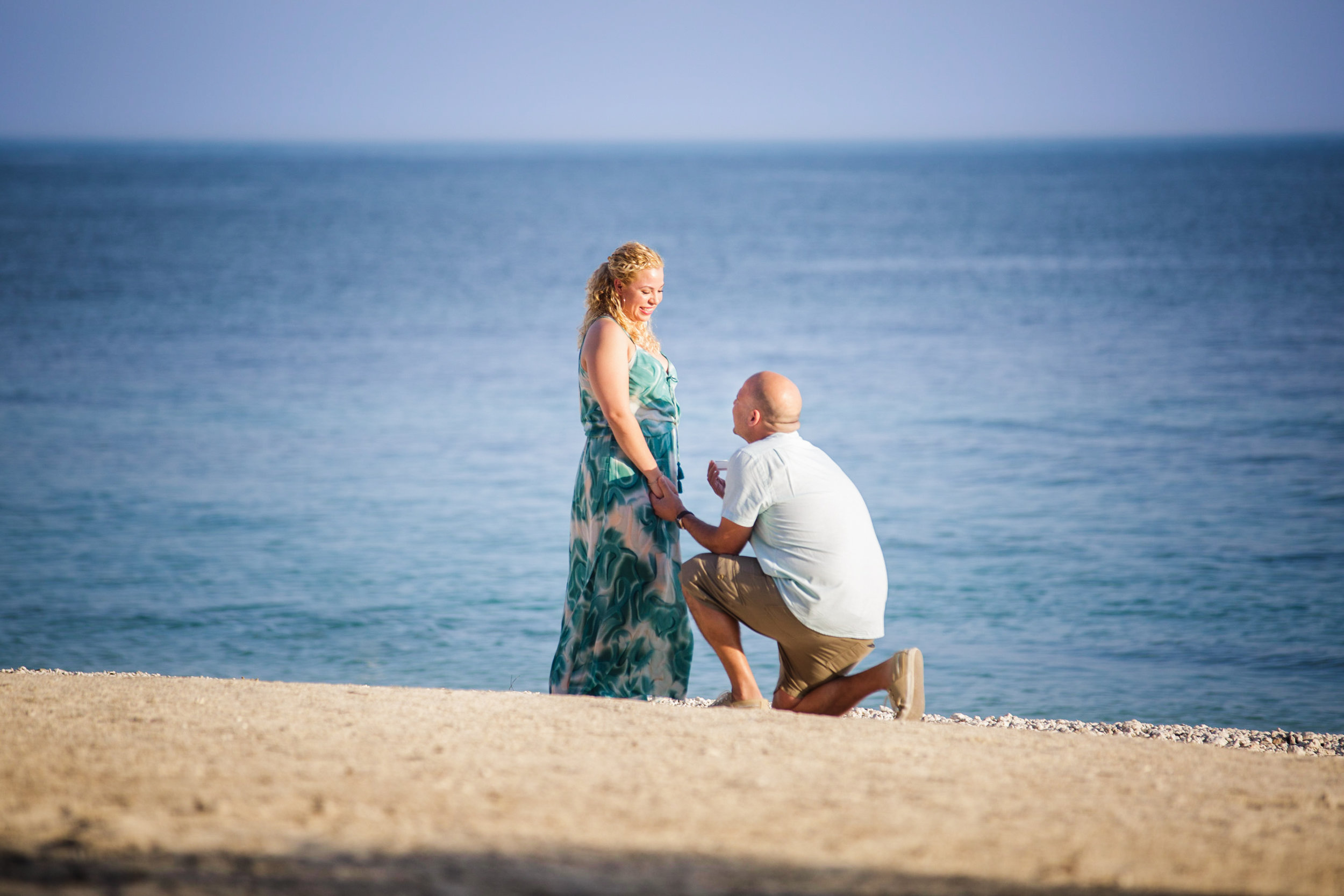 Asking someone to marry you in Key West?