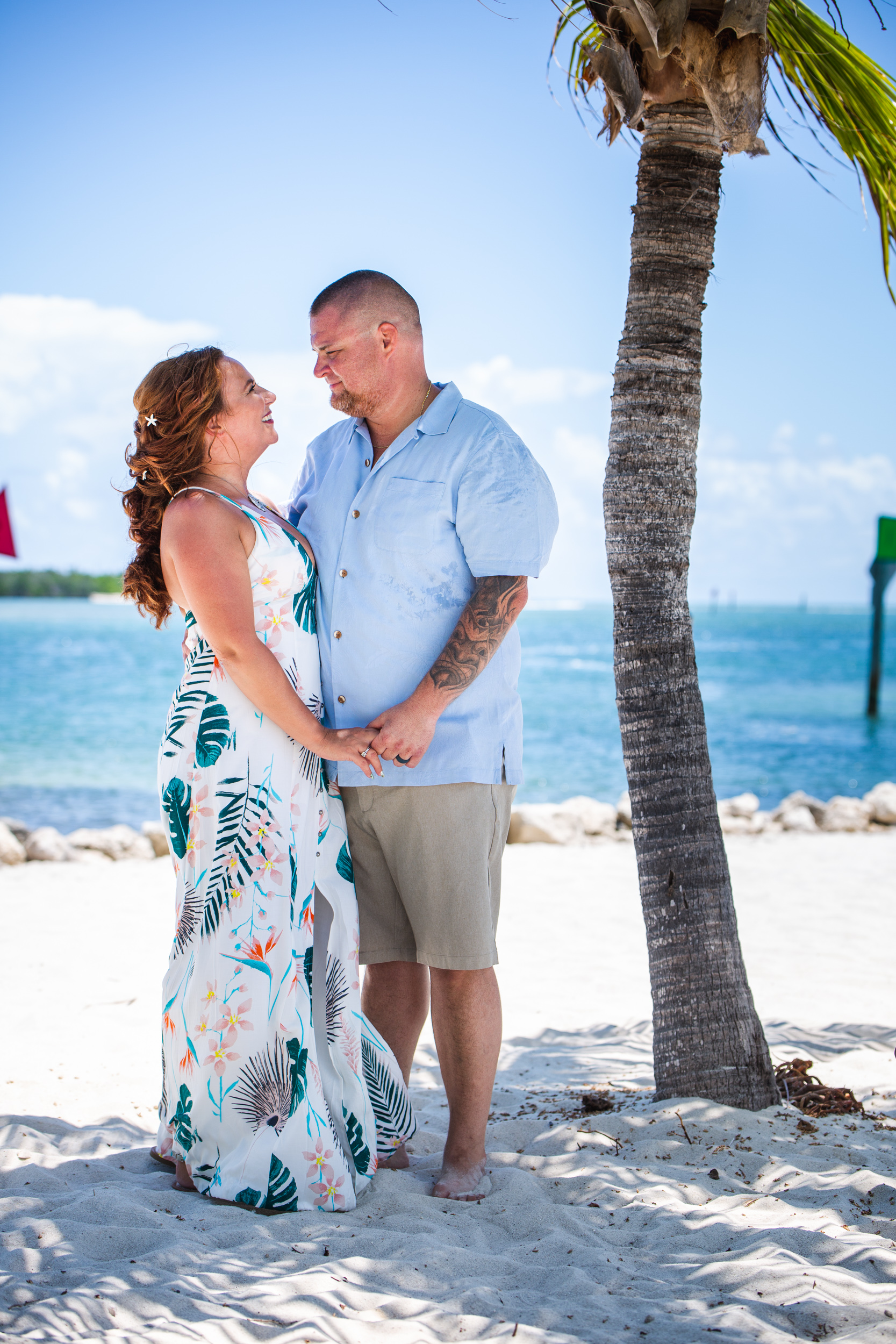Couple get married in casual beach ceremony.jpg
