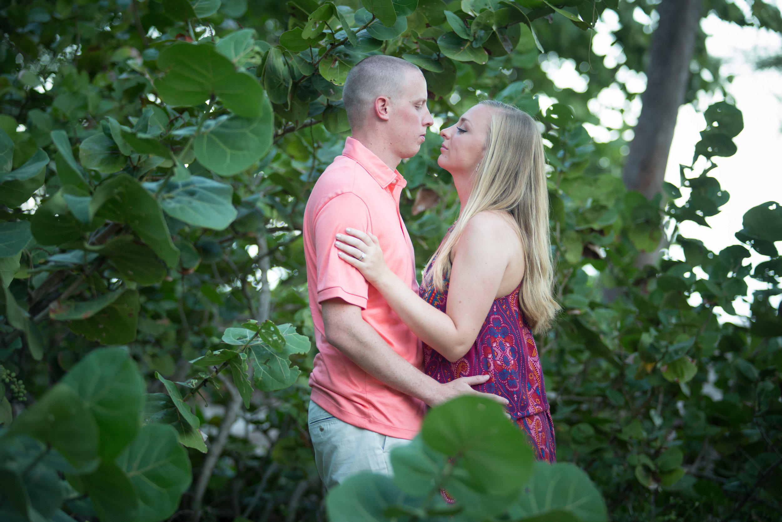 Couple in Sea Grapes