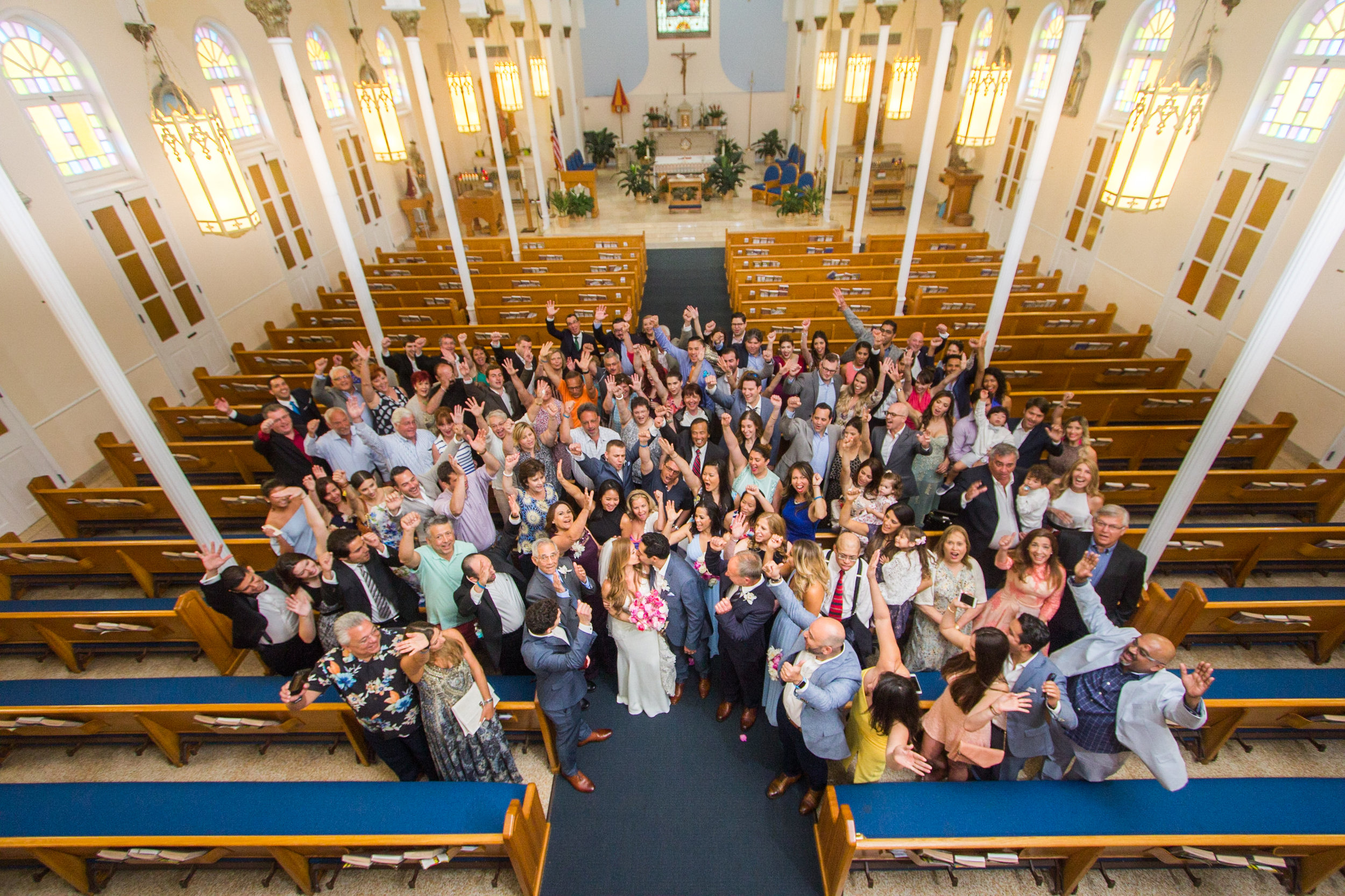 Big Family Group Taken From Balcony At St Marys Basilica.jpg