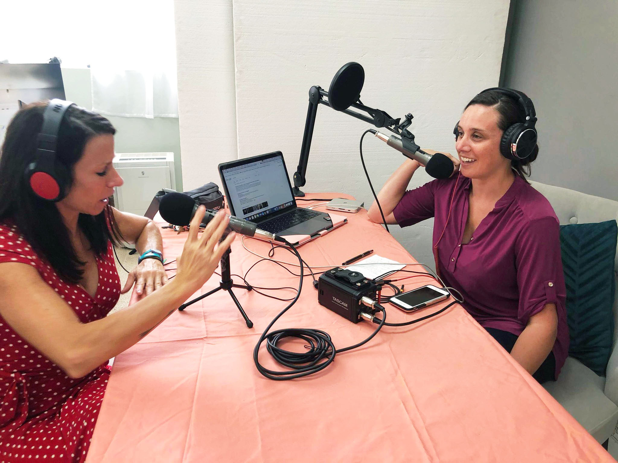 Karrie Porter Bond interviewing Beth Moyes for Key West Perspective Podcast.jpg