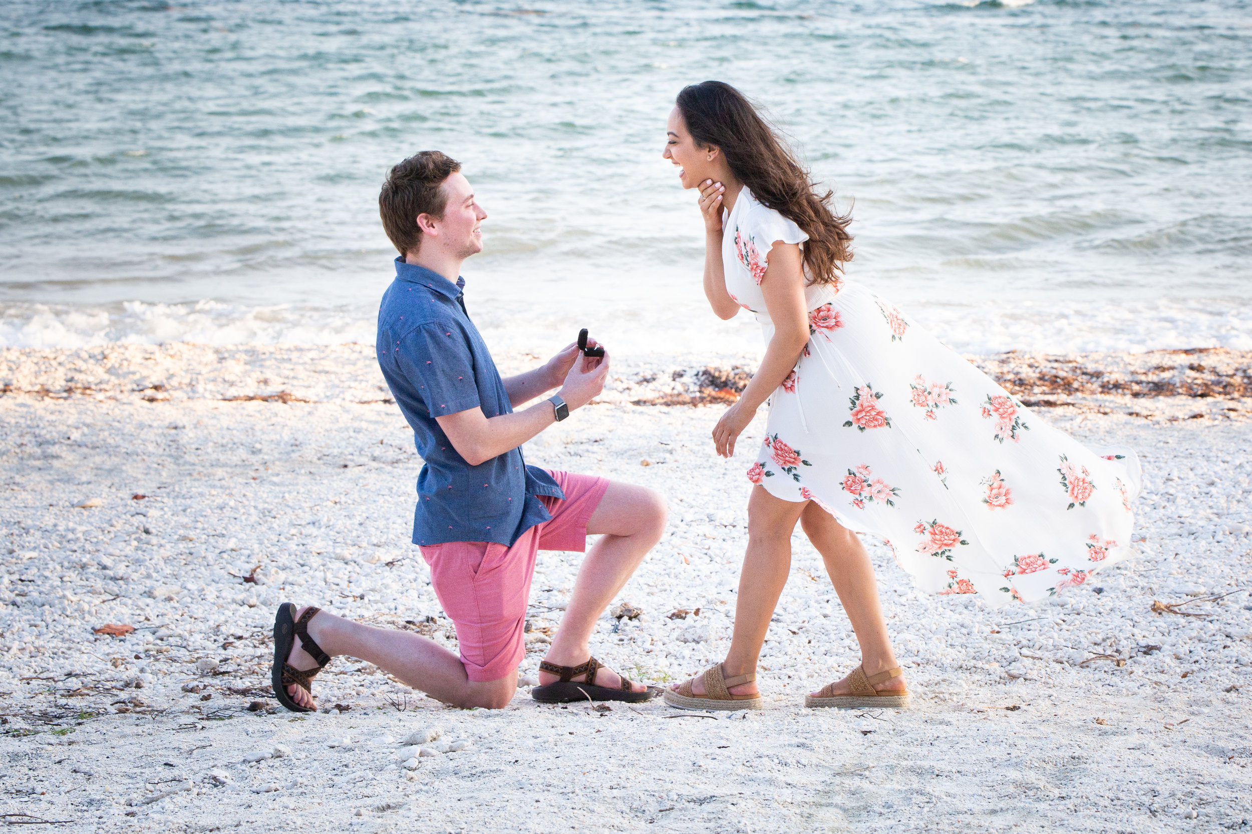 Girl excited to be proposed to while in Key West.jpg