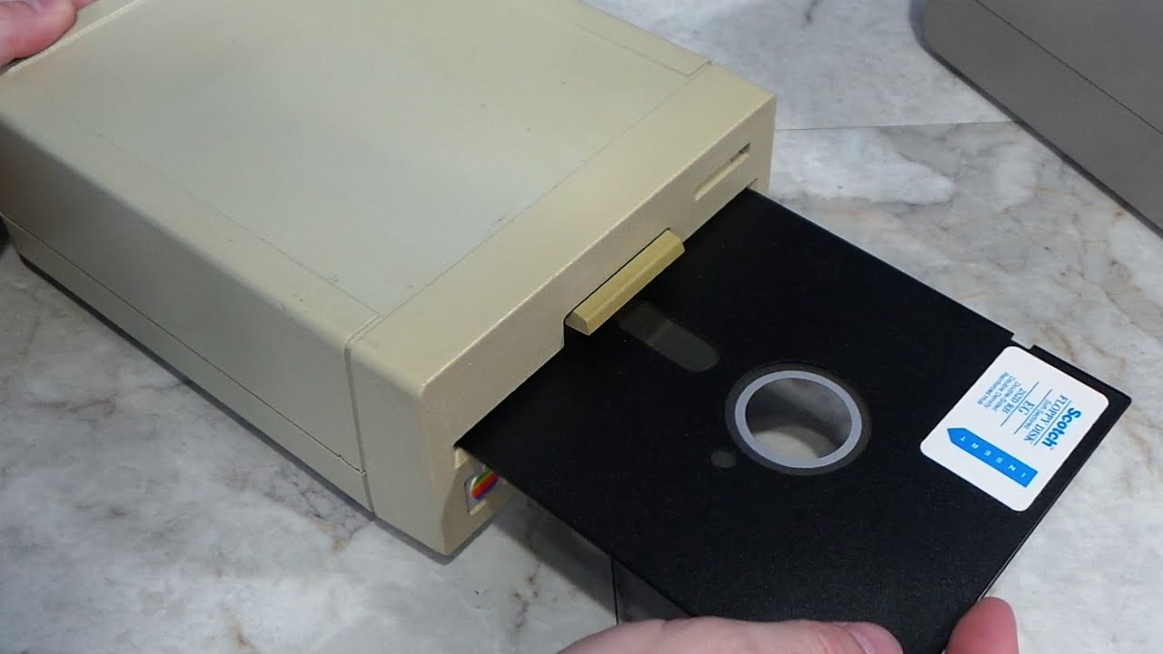 Old School 8 inch Floppy Drive
