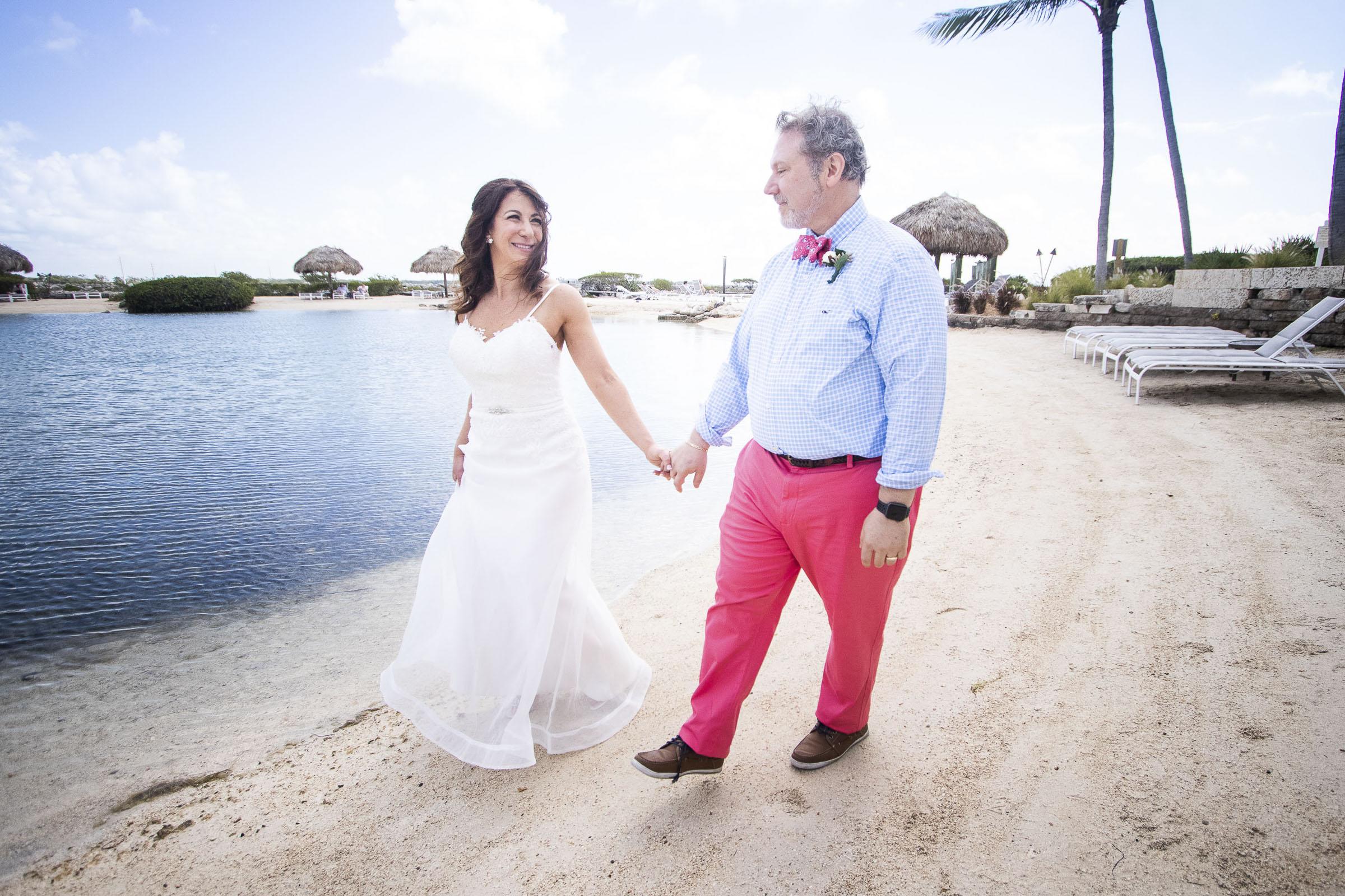 Florida Keys wedding captured by photographer Karrie Porter at Hawks Cay Resort in Duck Key, Florida