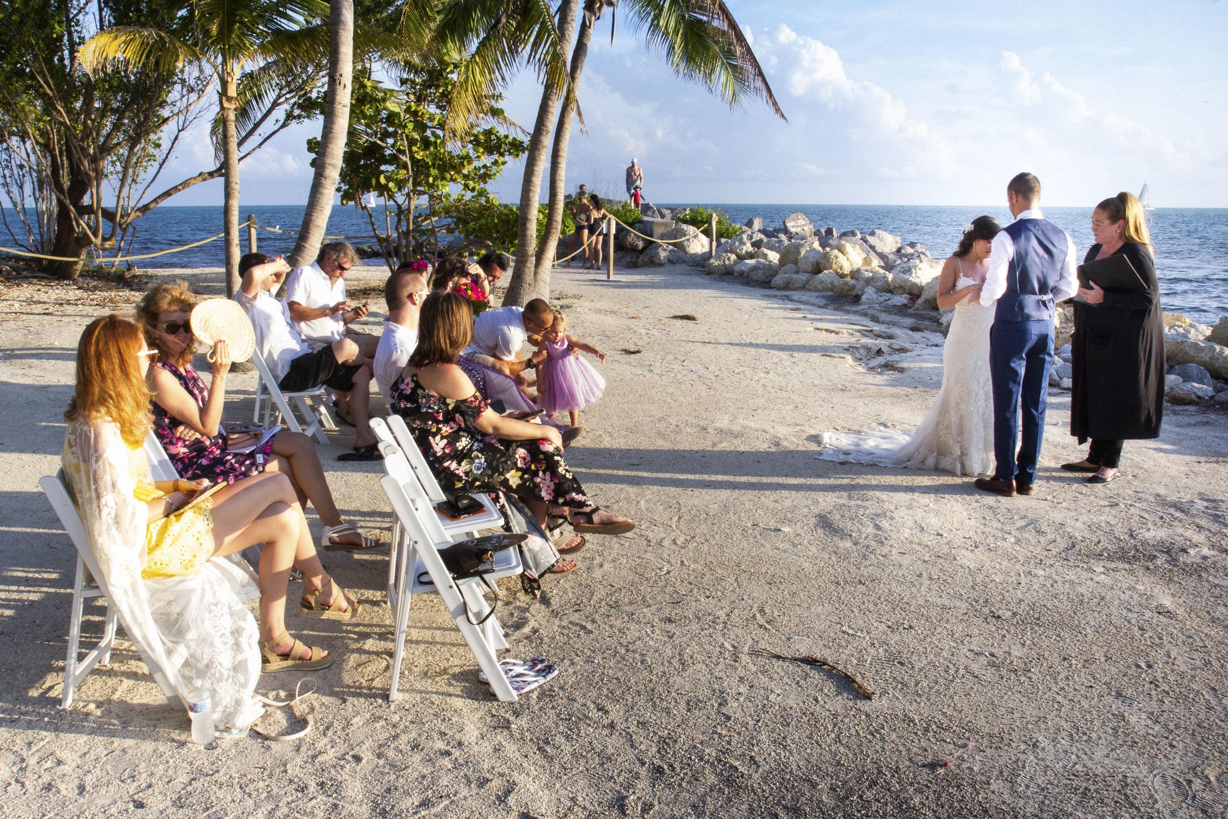 Celebration of a Key West wedding