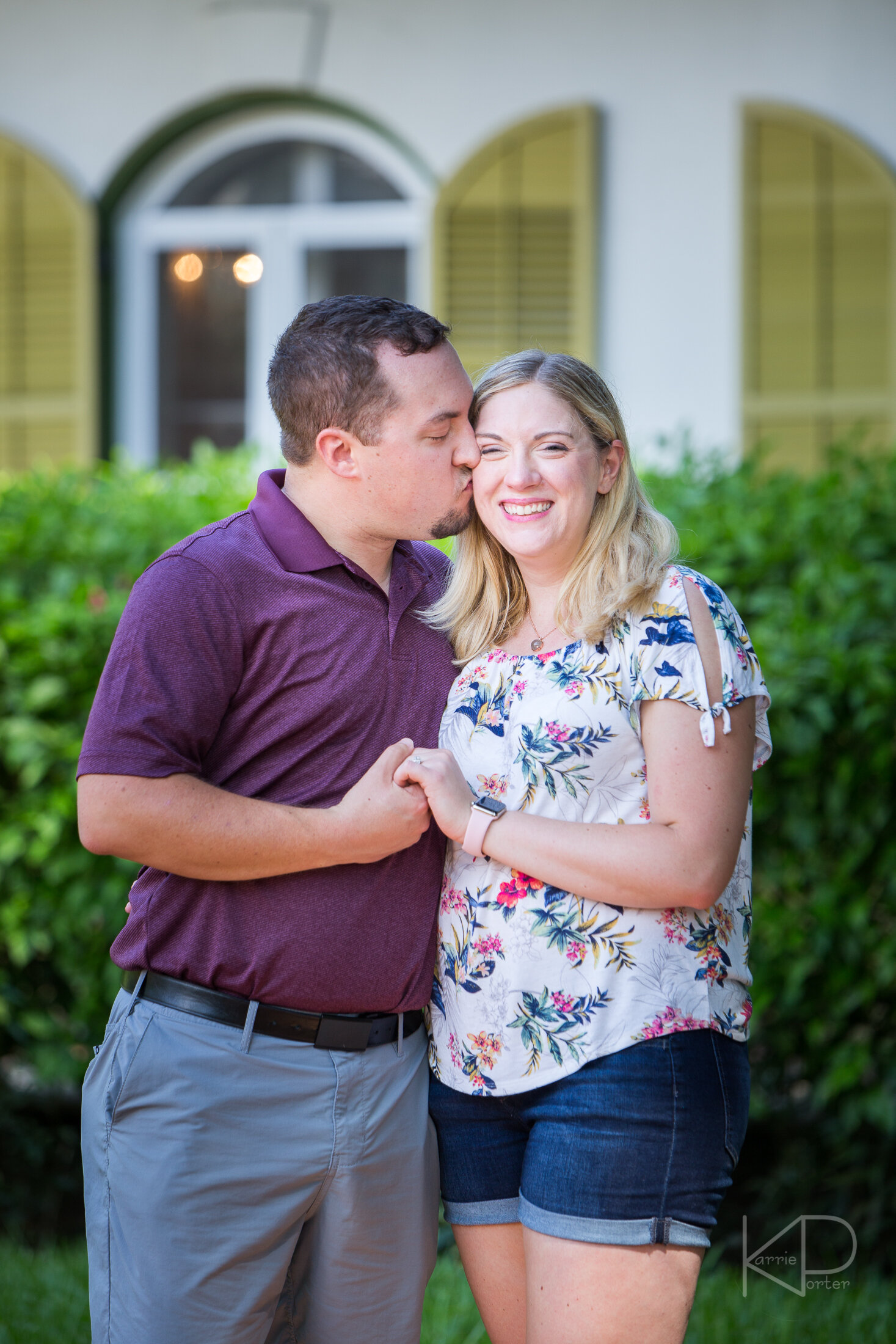She said yes at the Hemingway Home and Museum in Key West