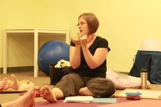 Teaching. Photo Credit: Hillary Boucher