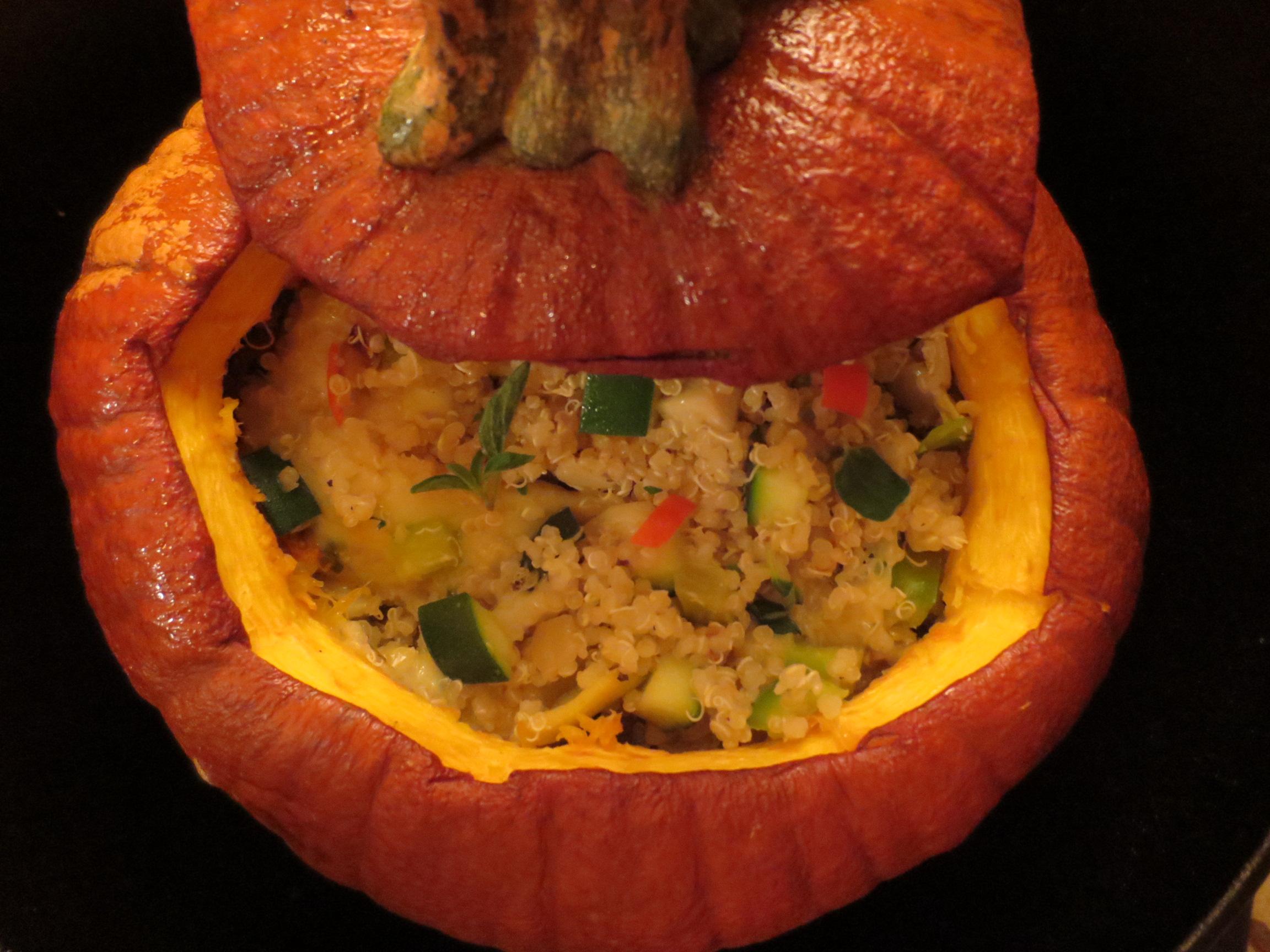 Veg Quinoa Pumpkin