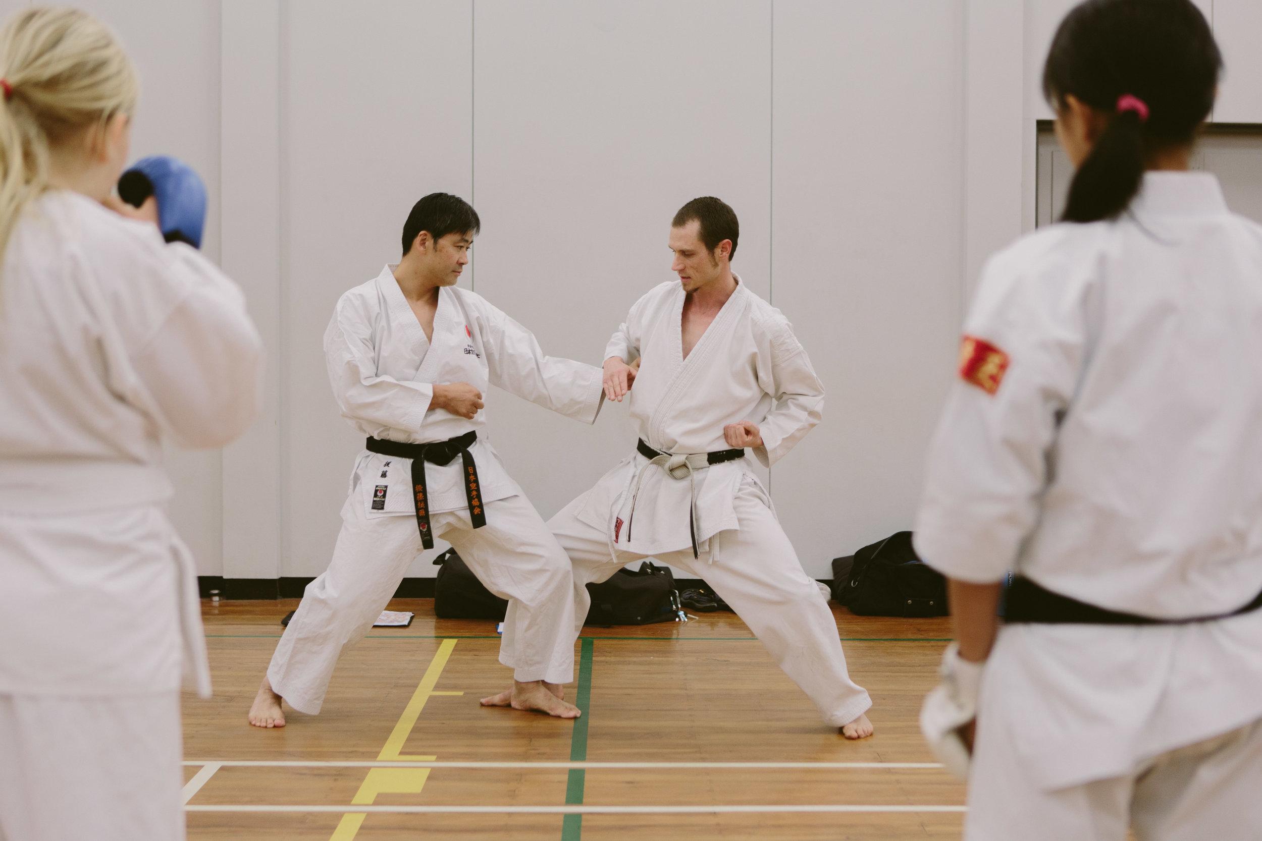 Christchurch JKA Karate Class