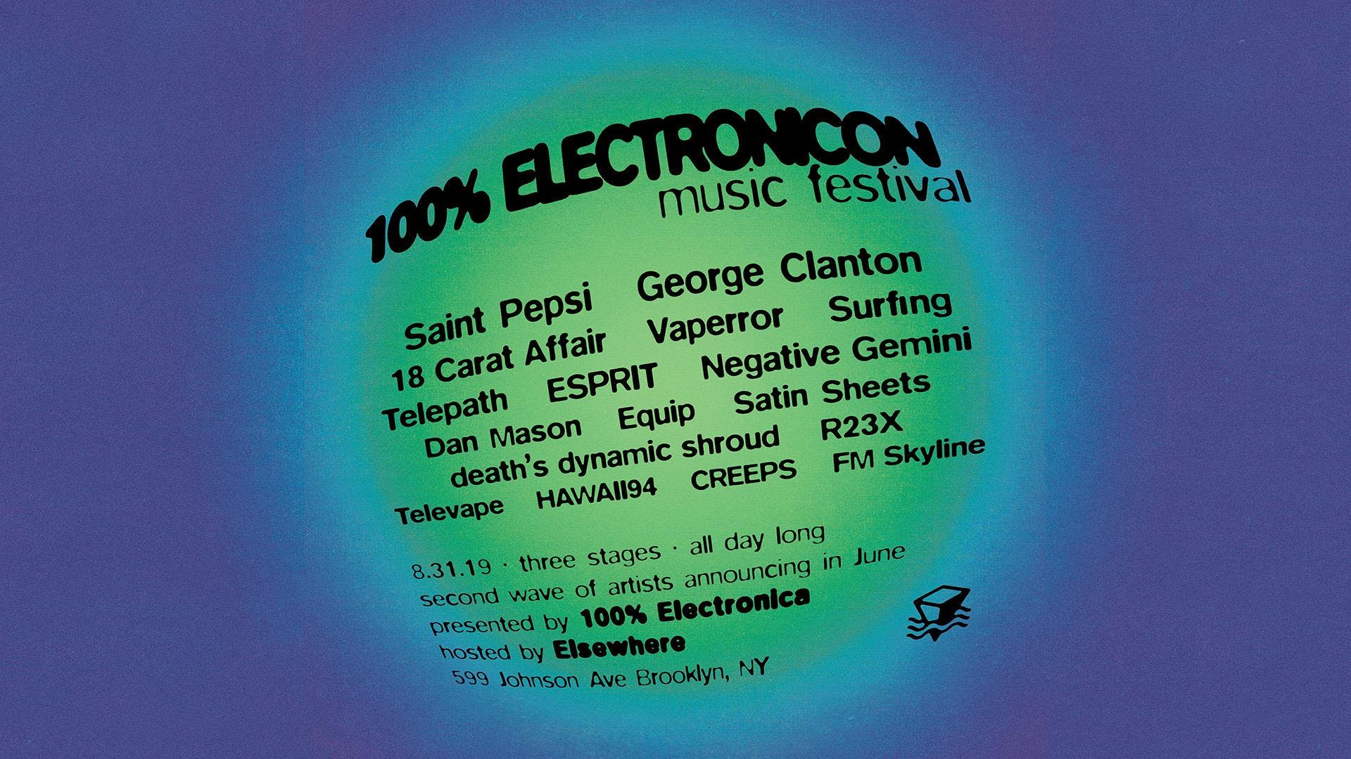 100% ELECTRONICON IS SOLD OUT!!! NEGATIVE GEMINI WILL SEE YOU THERE AUGUST 31ST 2019 IN BROOKLYN, NEW YORK AT ELSEWHERE.