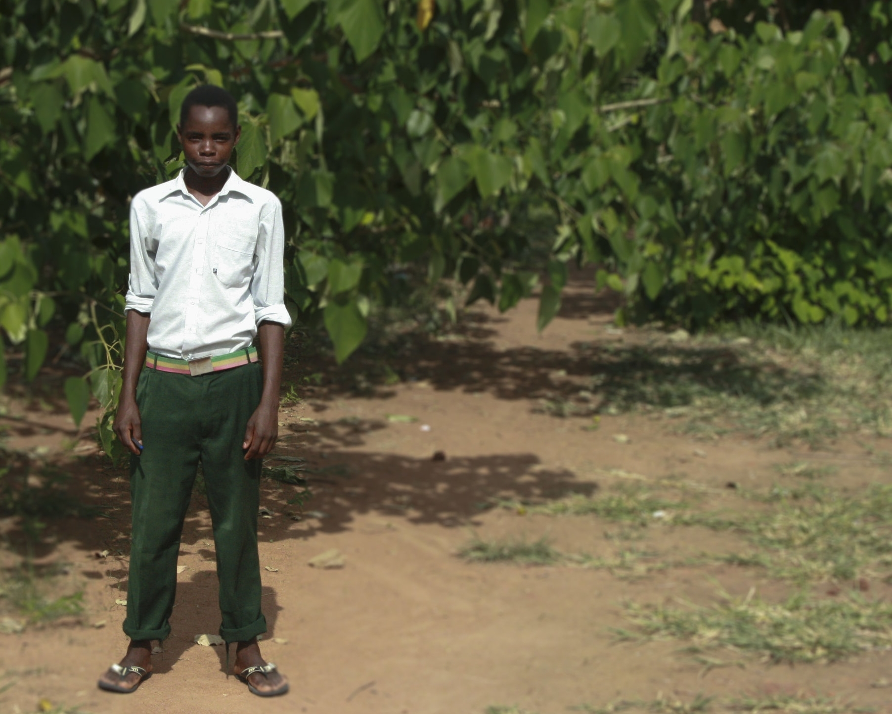 """""""We can't afford to sell [our crops], - because [the food] is greatly needed in our home"""""""