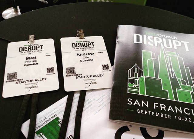 We here #DisruptSF