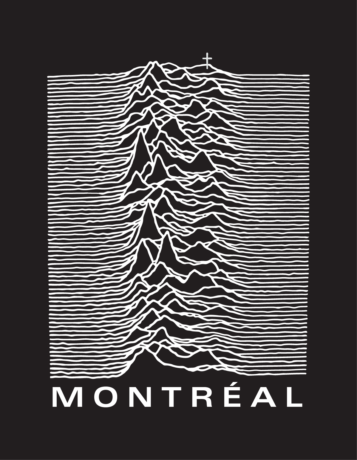 T-Shirt for local Montreal cool guy.  2014.