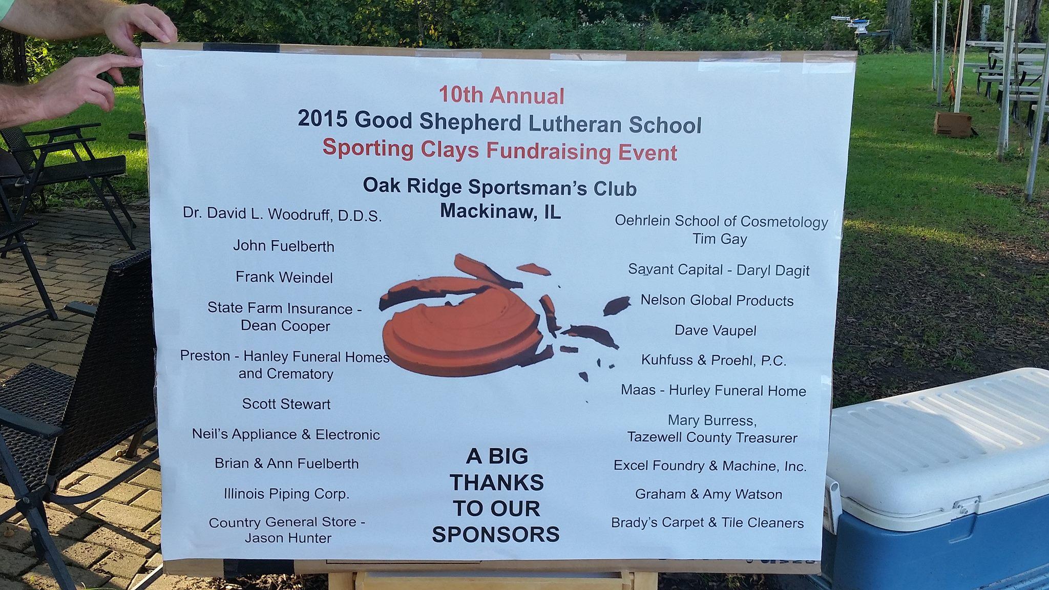Good Sheperd Lutheran School Fundraiser