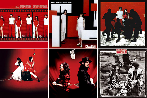 White Stripes had SIX studio albums.