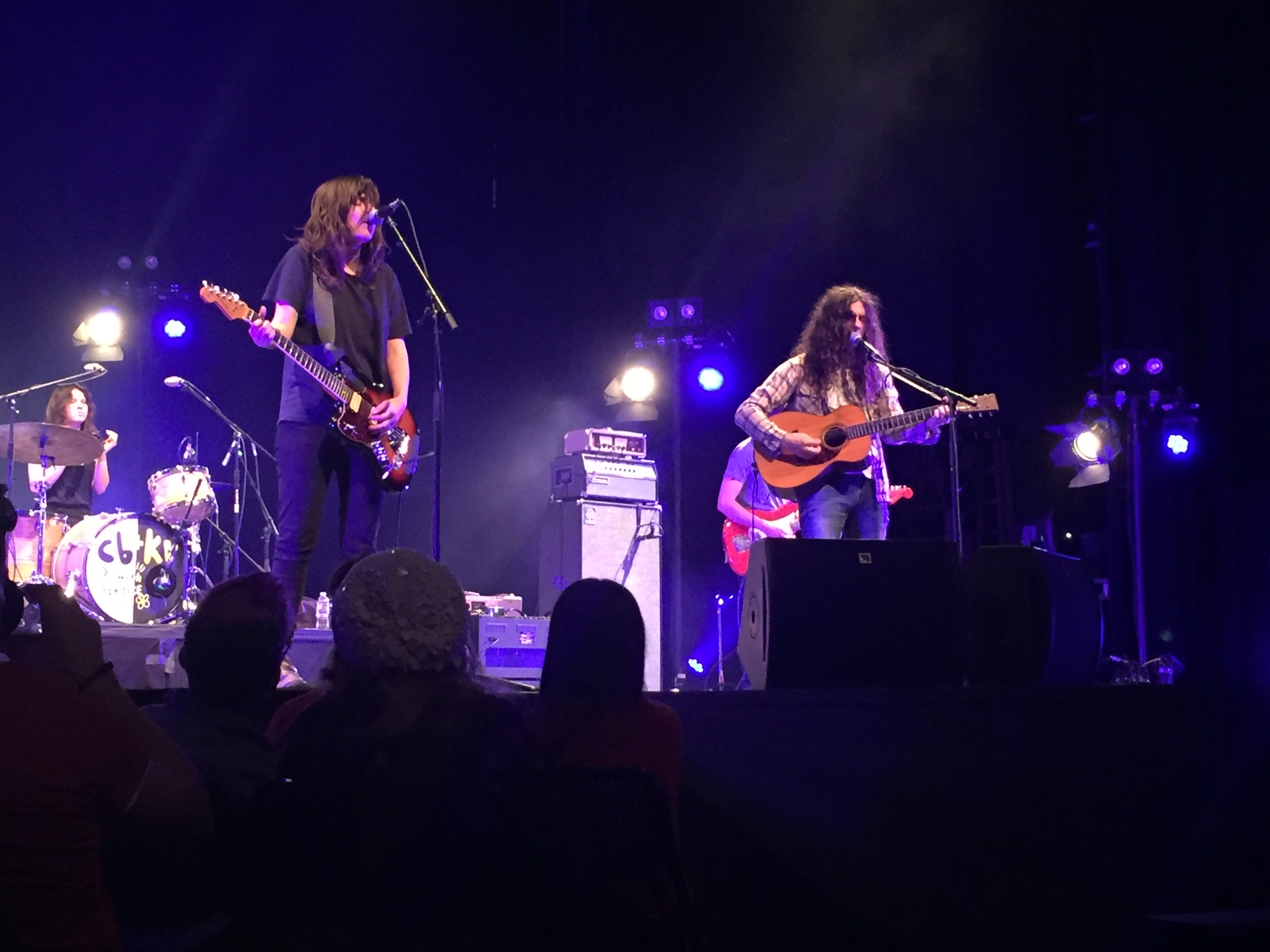 Courtney Barnett and Kurt Vile w/ The Sea Lice at SMU McFarlin Auditorium (my photo)