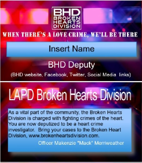 Donate $50 and get your very own PERSONALIZED BHD DEPUTY BADGE!
