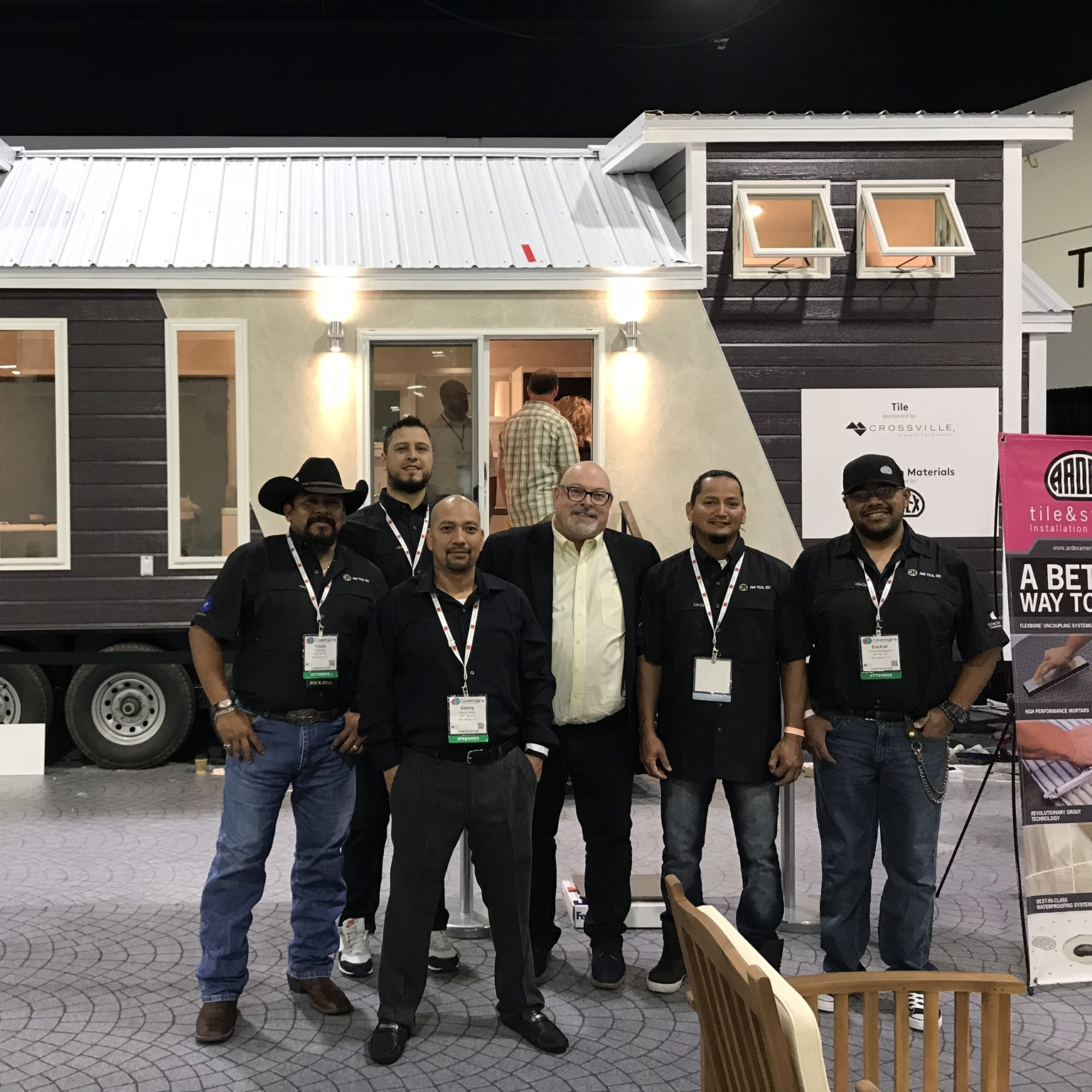 With Crossville's Mark Shannon at Tiny House 2018