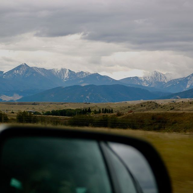 Montana was moody today...