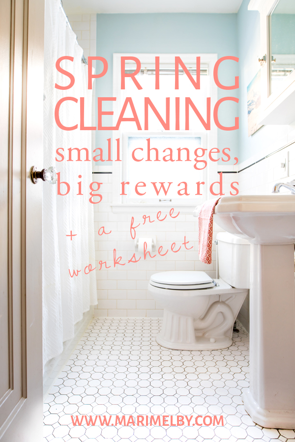 Spring is in the air, but I challenge you to put down the mop and bucket for spring cleaning and instead think about a space in your home that is not working well for you. A little planning can go a long way for the organization of a space in your home or office. A space that isn't functioning well can be a drain on your time and energy. Get really intentional about what your space is used for. Create a space that inspires and motivates you to do great work or that contribute to your purposeful life. I even included a free printable for you to get organized and create a plan for redesigning a space in your home.