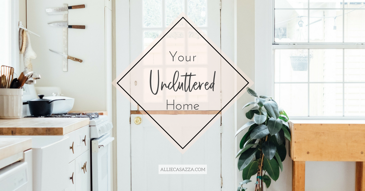 Stop cleaning up after your kids' childhood. Start being present for it. - Your Uncluttered Home has been globally praised & taken by thousands of moms who changed their lives!