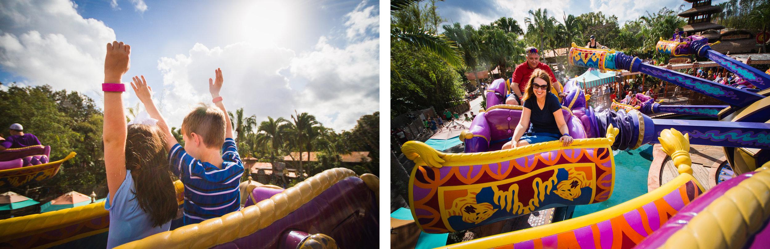 magic kingdom photographer / disney vacation photographer / magic carpets of aladdin