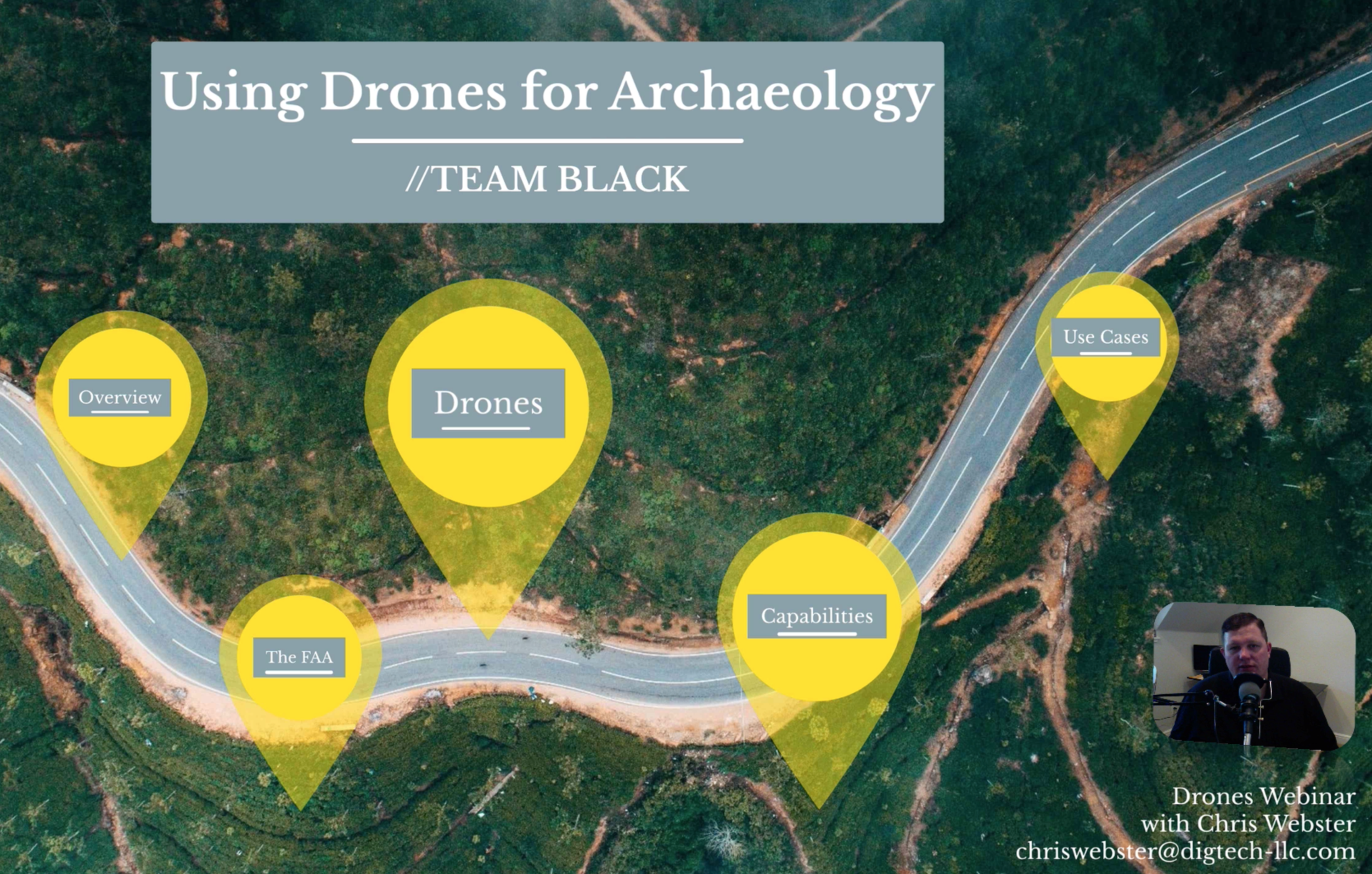 Drones for Archaeology - An Introduction//  Chris Webster   Drones aren't evil and can be used for many things. But, what type of drone should you use and what are they capable of. This is a high-level overview on what types of drones there are and what you can use them for.