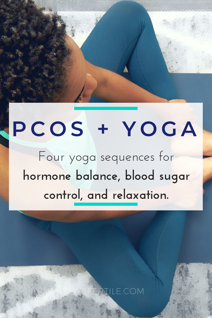 PCOS Yoga hormone balance insulin resistance blood sugar anxiety