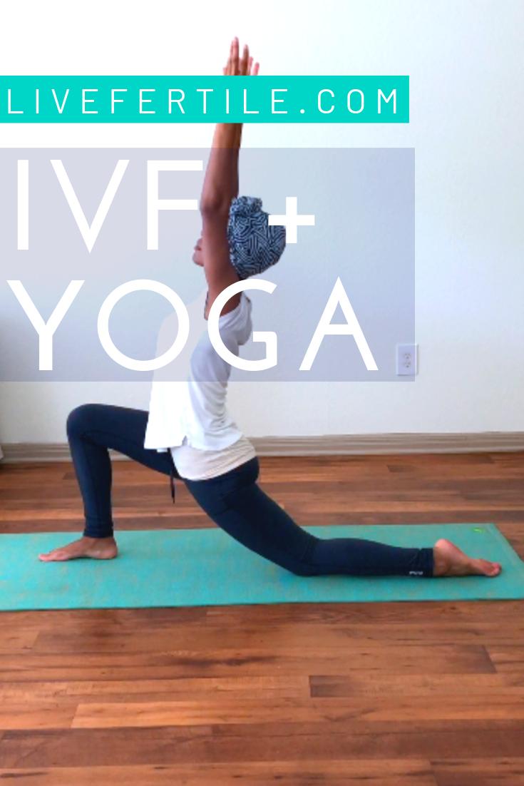 IVF ART IUI Egg Freezing Yoga