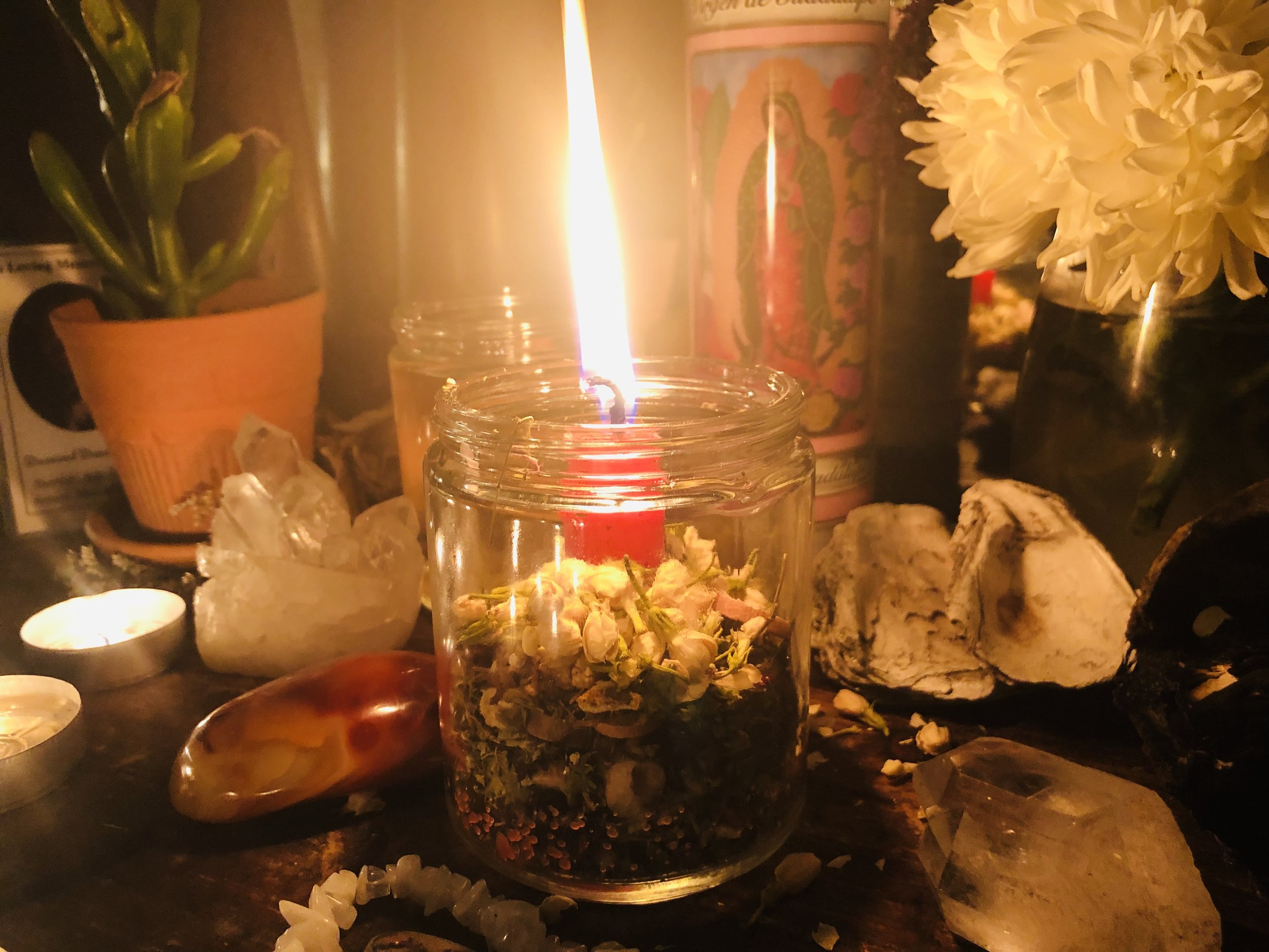 How to Work a Candle Magick Jar - Learn how to use your candle magick jar to set your intent!