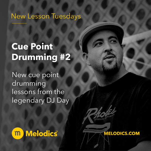 New lessons up on Melodics + a new interview discussing DJing, finger drumming, y mas (smash the pic for the link).