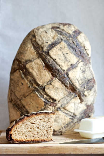 LEVAIN LOCALE   The ultimate French table bread. Flavorful and chewy crust, dense interior with faint sour note.